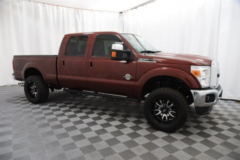 Pre-Owned 2015 Ford Super Duty F-350 SRW Crew Cab Lariat 4x4