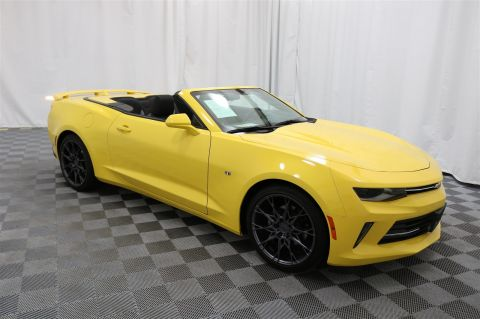Pre-Owned 2017 Chevrolet Camaro LT Convertible w/RS Package