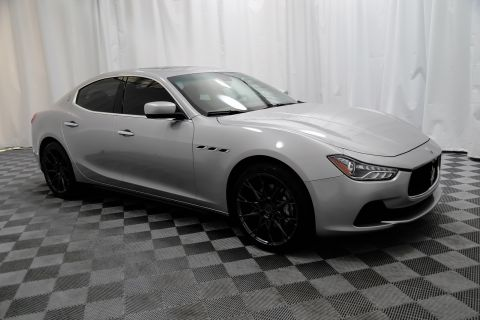 Pre-Owned 2014 Maserati Ghibli Twin Turbo