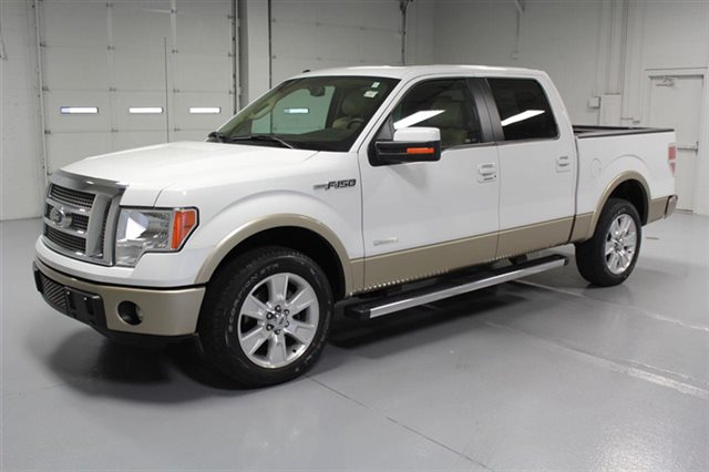 Pre-Owned 2012 Ford F-150 SuperCrew Lariat With Navigation