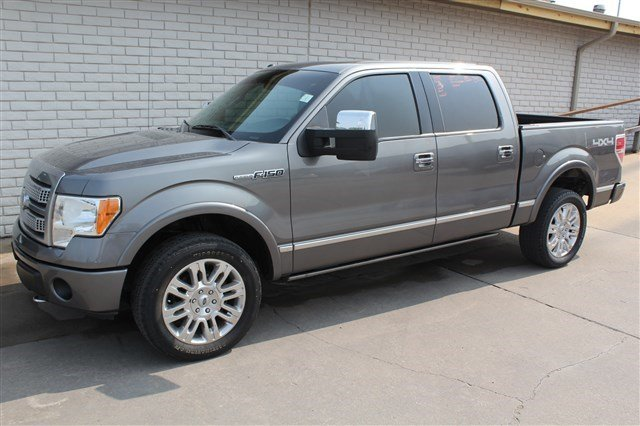 Pre-Owned 2011 Ford F-150 Crew Cab Platinum 4x4