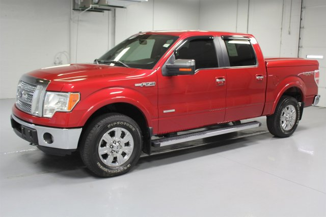 Pre-Owned 2012 Ford F-150 SuperCrew Lariat 4x4