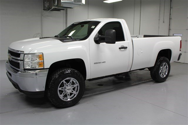 Pre-Owned 2011 Chevrolet Silverado 2500HD Regular Cab Diesel