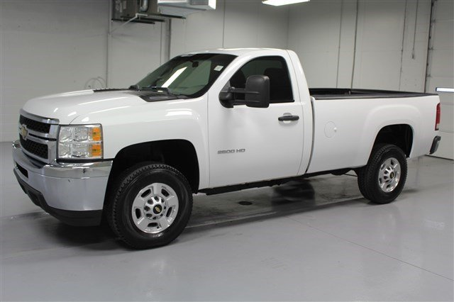 Pre-Owned 2011 Chevrolet Silverado 2500HD Regular Cab Diesel 4x4