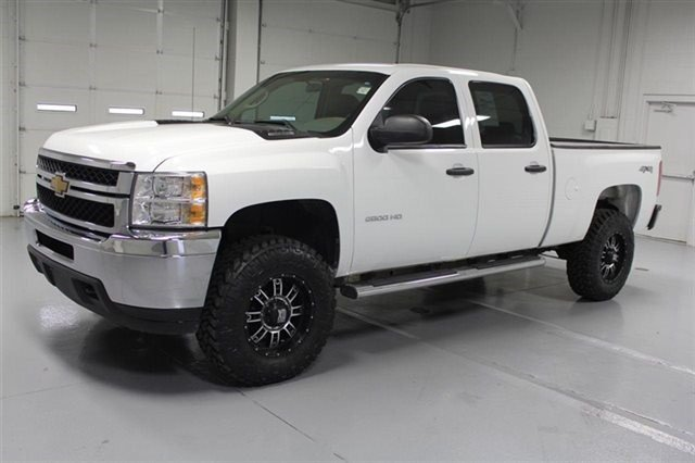 Pre-Owned 2013 Chevrolet Silverado 2500HD Crew Cab 4X4  -  2 Lift