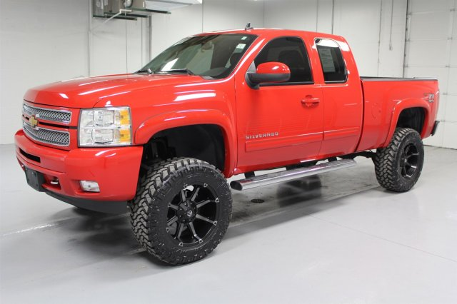 Pre-Owned 2013 Chevrolet Silverado 1500 Extended Cab LTZ 4x4 - Lifted