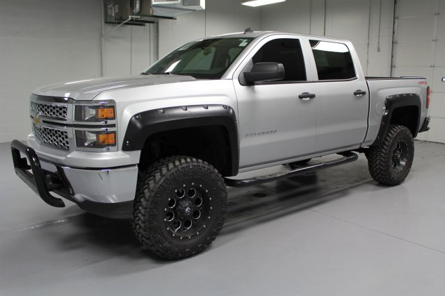 Pre-Owned 2014 Chevrolet Silverado 1500 Crew Cab LT 4x4  -  7 Lift